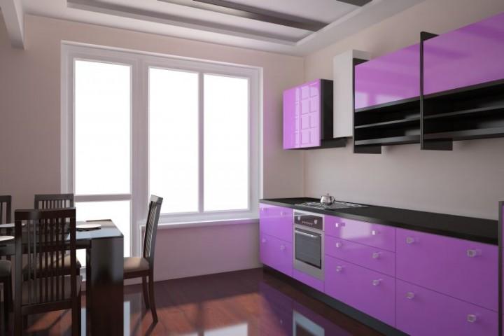 Jak urz dzi kuchni w bloku projekt kuchni i jadalni for Peindre un meuble en noir laque