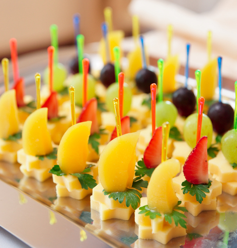канапе фруктовое на шпажках рецепты с фото