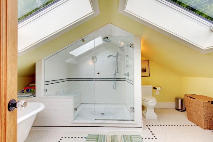 Zdjęcie Nr 6 łazienka Na Poddaszu Jak Ją Dobrze Zaprojektować